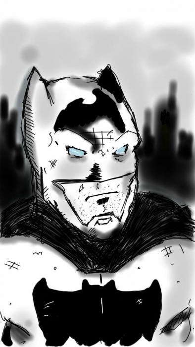 Batman from my 14 yr young son Marlon