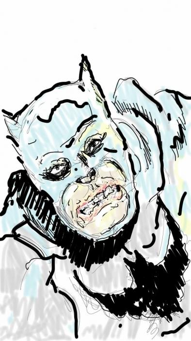 Batman homage to Frank Miller (Pierre)