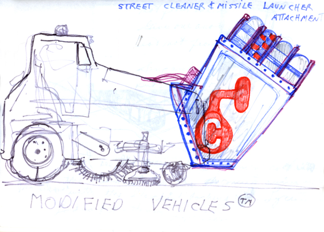 Modified vehicle v1