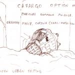 Crashed capsule