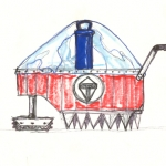 Plutonium Rod Carriage