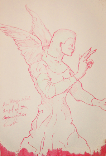 Study of the Angel or the Annuciation