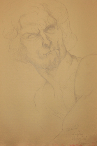 Study after Bernini