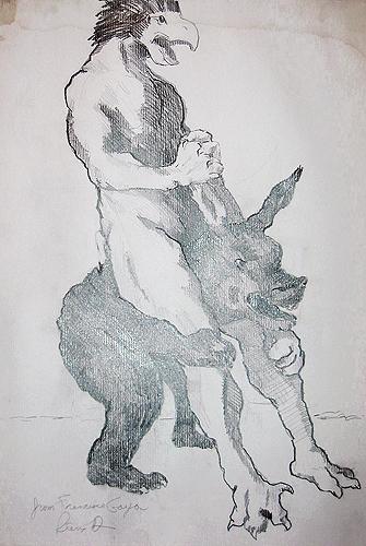 Study after Goya